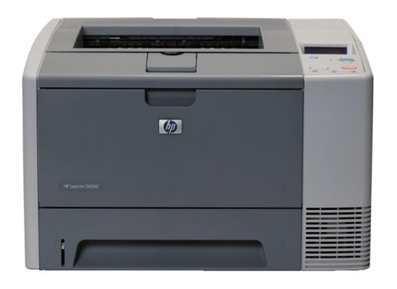 HP LaserJet 2420 B/W Laser printer - 28 ppm - 350 sheets