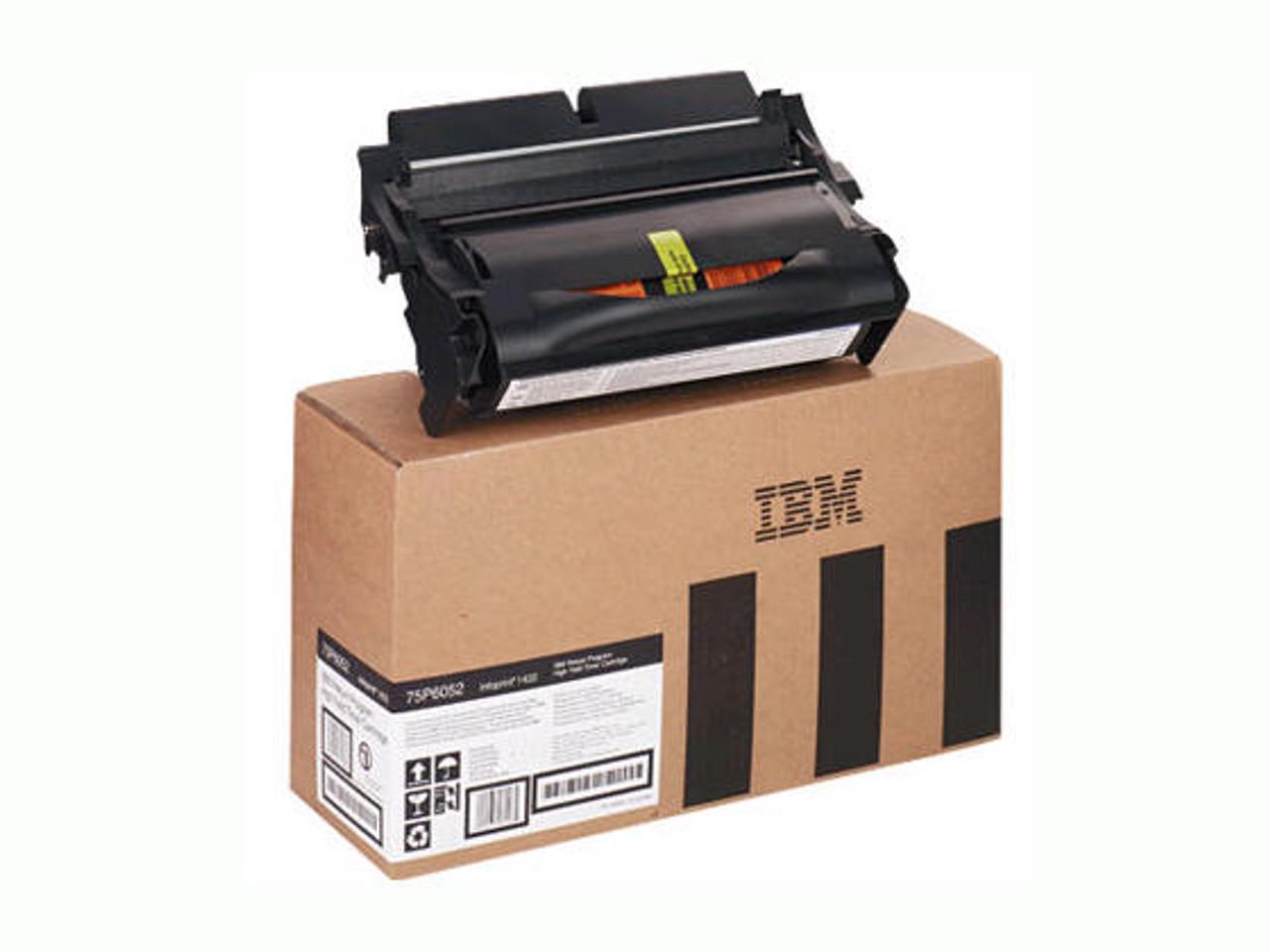 IBM Return Program Black Toner Cartridge for Infoprint