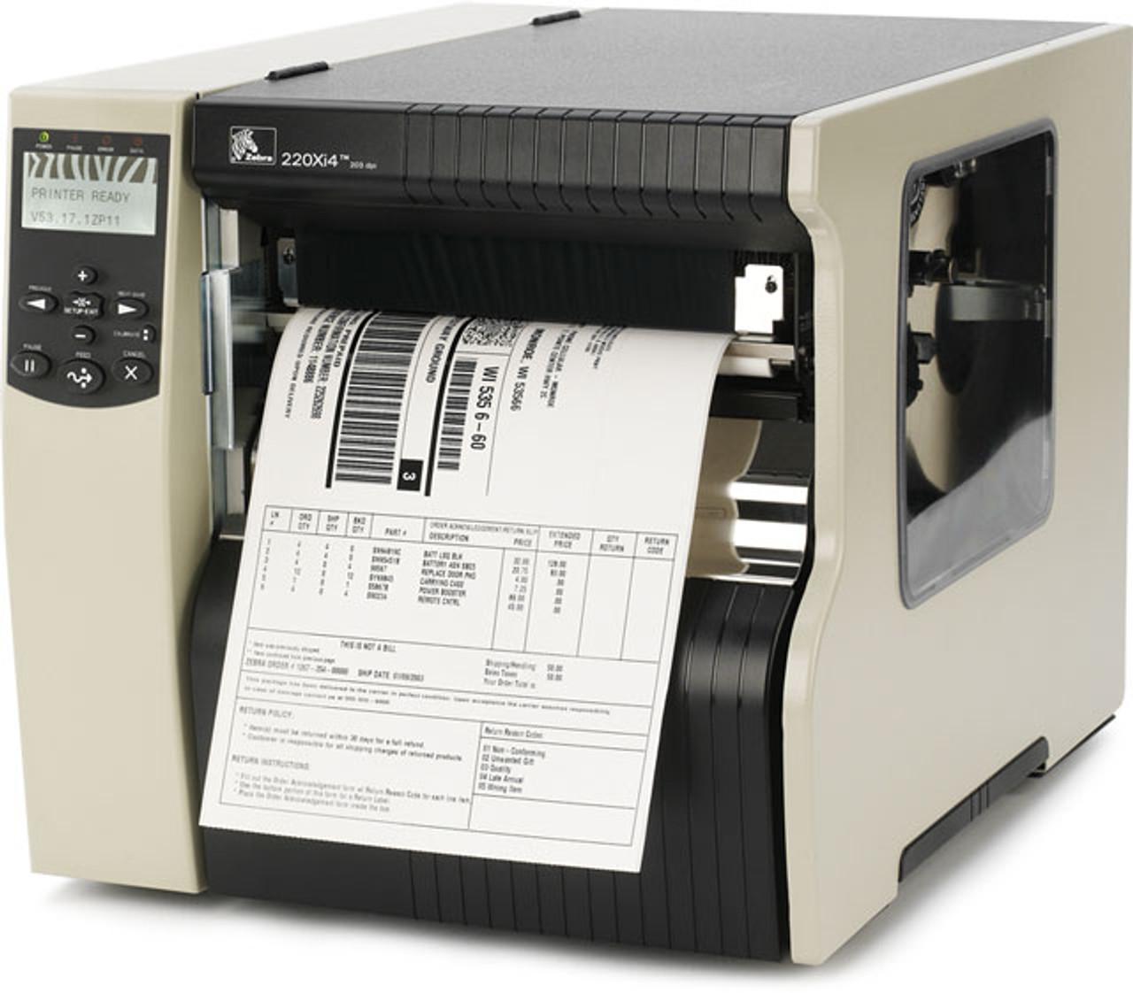 Zebra Xi Series 220Xi4 Thermal Label Printer