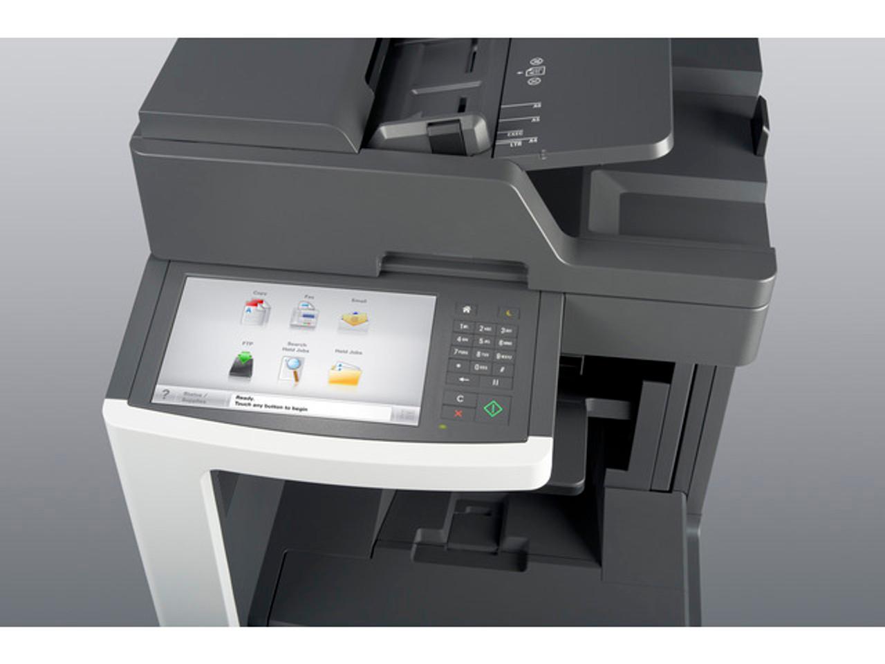 Lexmark MX810de Monochrome Laser - Fax/copier/printer/scanner
