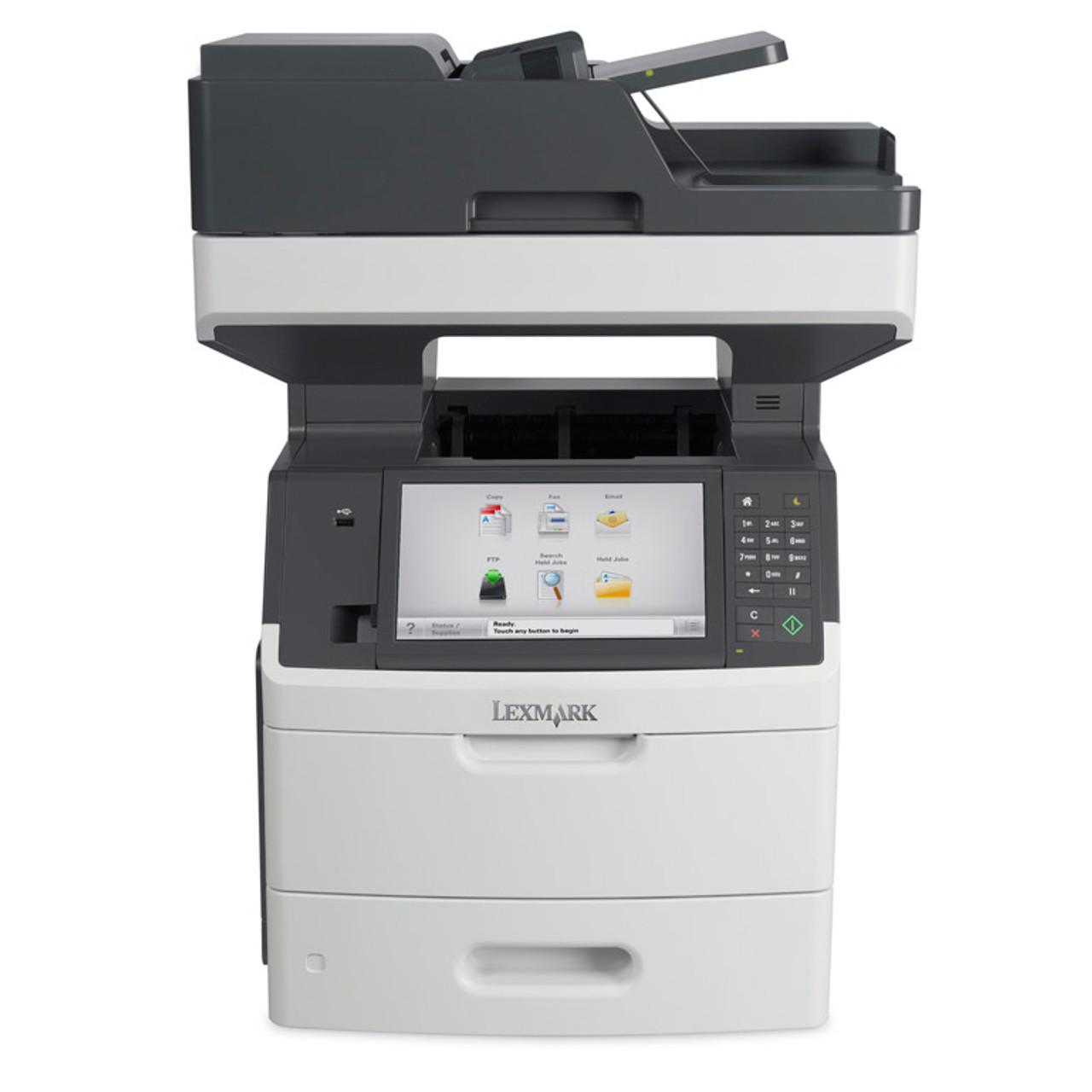 Lexmark MX711de Monochrome Laser - Fax/copier/printer/scanner