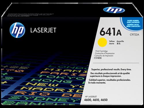 HP 4600 4650 Yellow Toner Cartridge - New