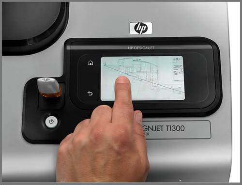 HP T1300 plotter for sale