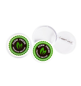 Reusable Badges 75mm