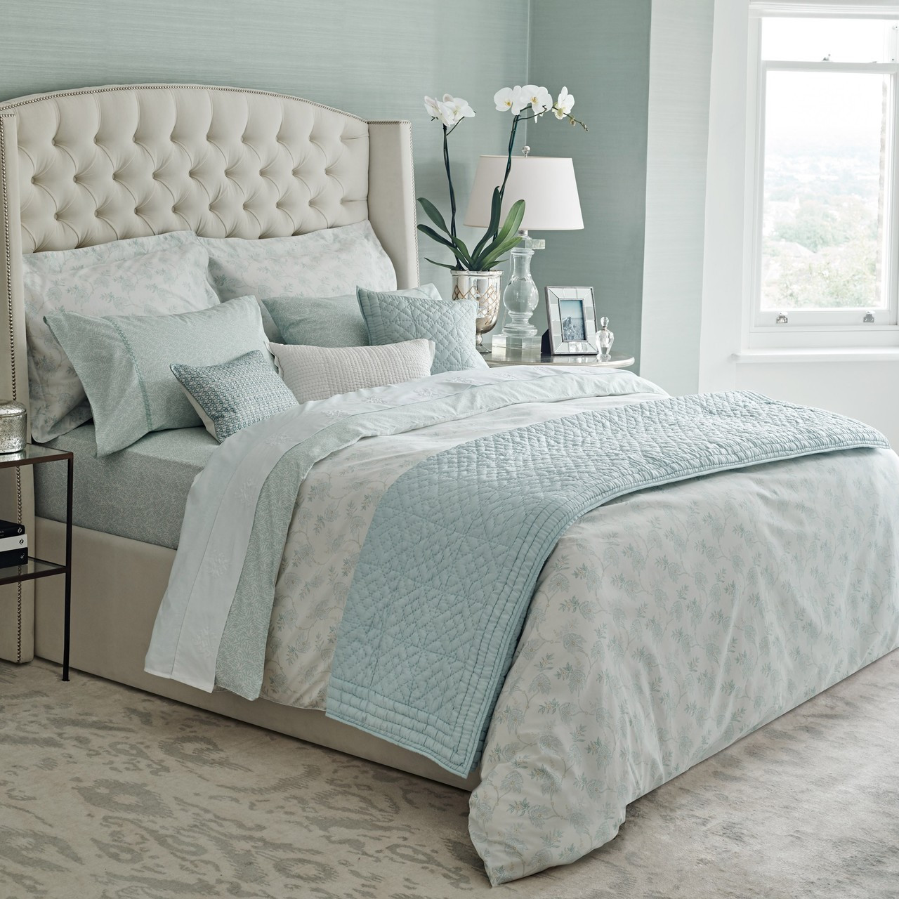 Duck Egg Blue Bedroom Pictures Bedroom Design Concept Vintage Bedroom Lighting Master Bedroom Design Nz: Fable Eram Bedding In Duck Egg