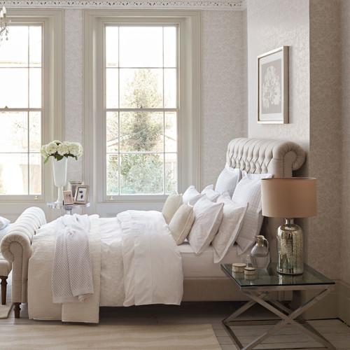 Fable Jasmine Bedding in White