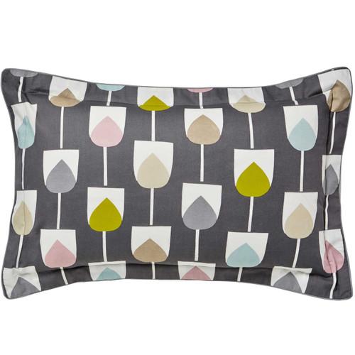 Scion Sula Oxford Pillowcase, Graphite