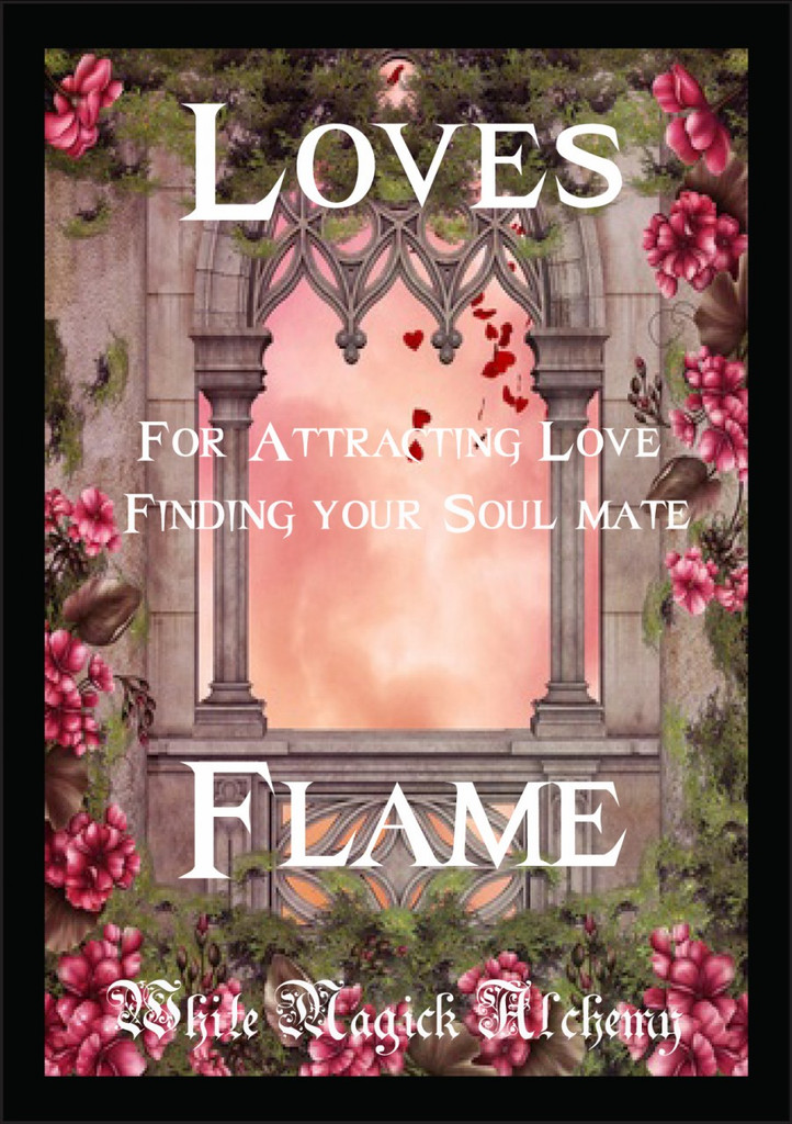 Loves Flame Ritual Spell Jar Vigil Candle . Love, Relationships, Find a Soul Mate