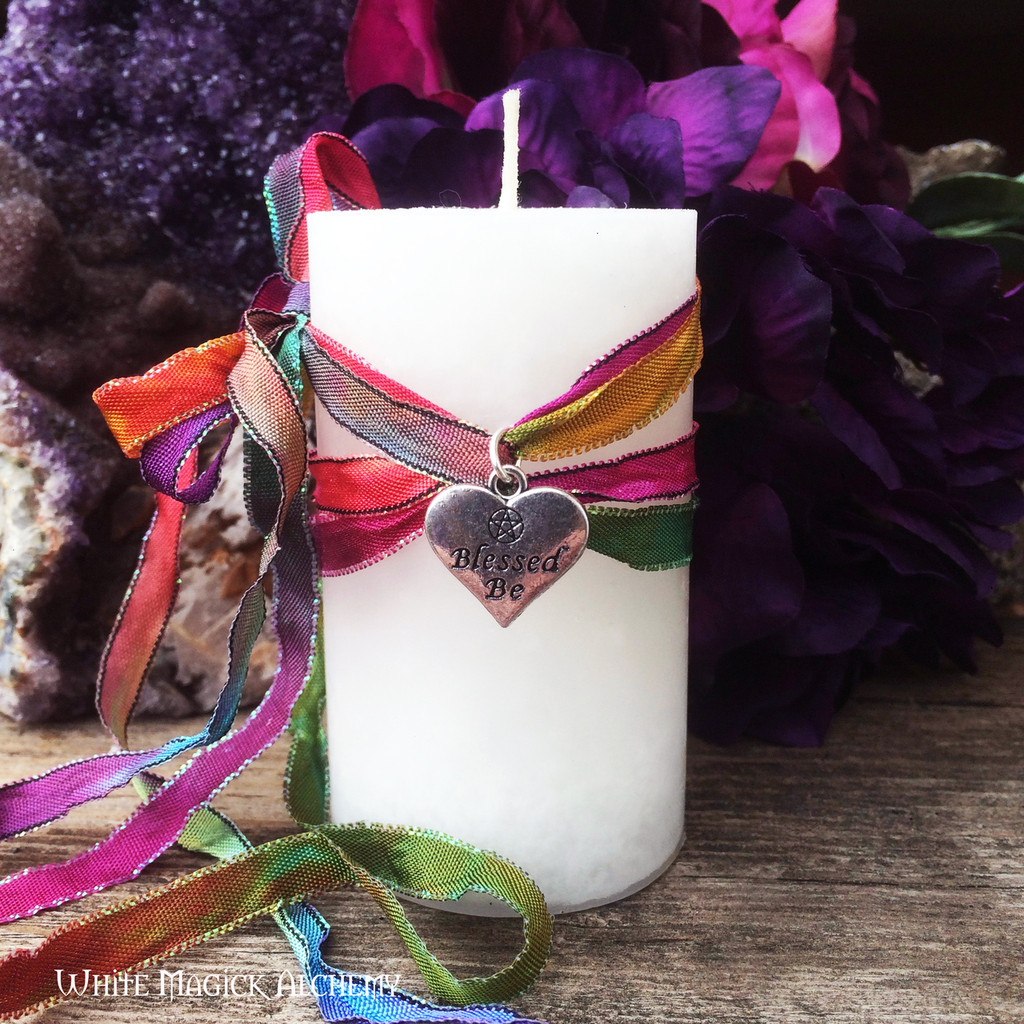 Happy Birthday Witch! Candle by White Magick Alchemy