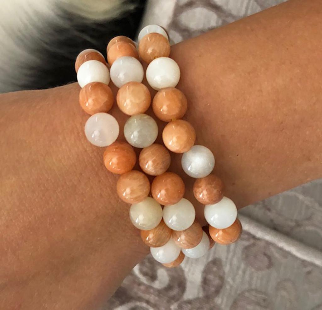 Moonstone Boho Gemstone Bracelets, Harness the Magical & Healing Energies of Stones