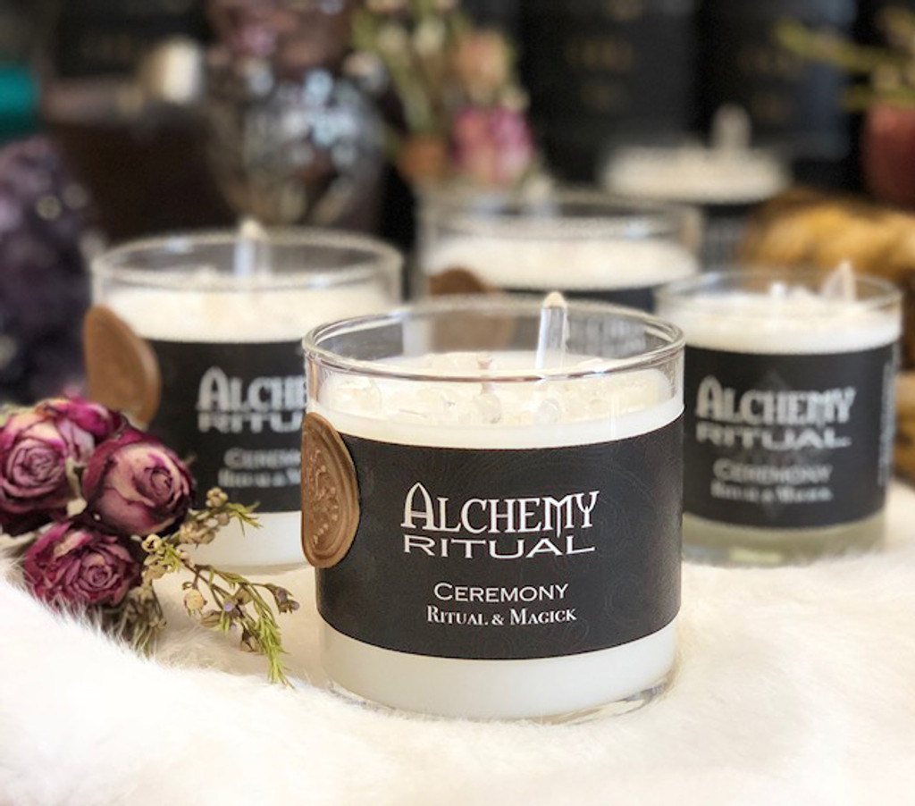 Ceremony - Alchemy Ritual Candles for Ritual & Magick