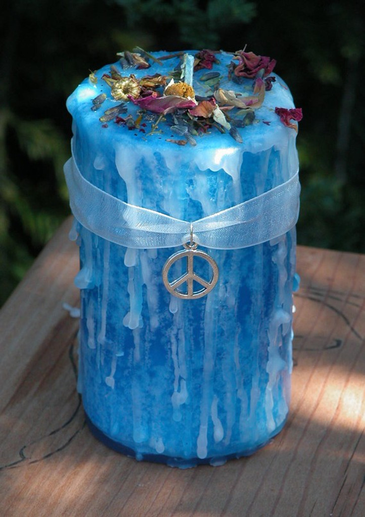 Peaceful Home Candles for Clear Negative Energies within you Sacred Space, Balance, Renewal, New Beginnings