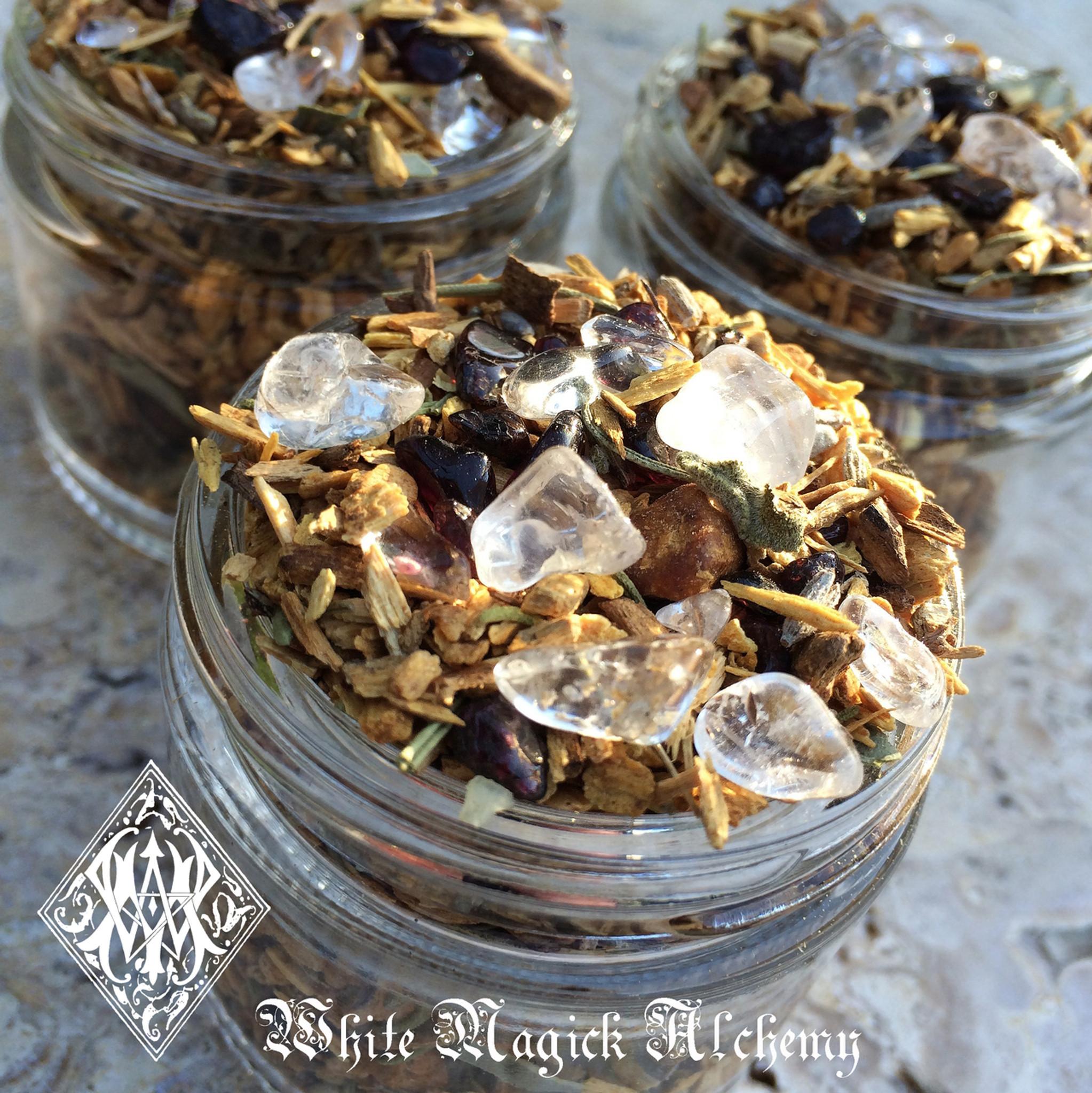Shamans Crystal Sacred Wood Sage Smudging Incense Blend