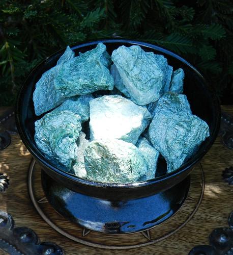 Fuchsite Gemstone Natural Raw