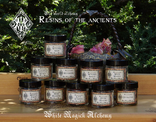 Resin Incense Ancient Alchemy Heartwoods Saps