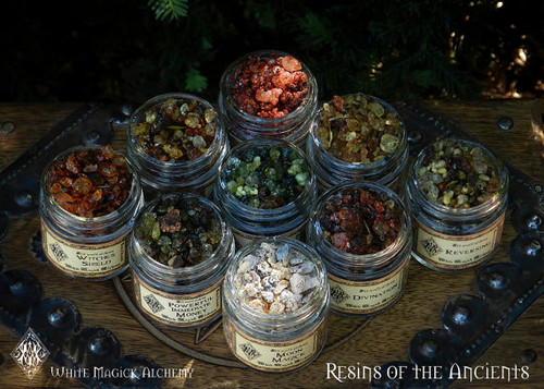 Resins of the Ancients . Old World Alchemy All-Natural Resins