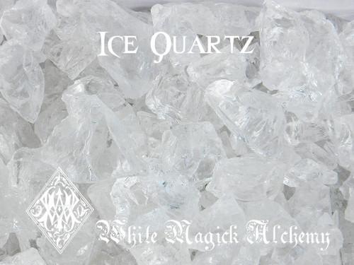 Ice Quartz Crystals Clear Raw Diamond Nuggets