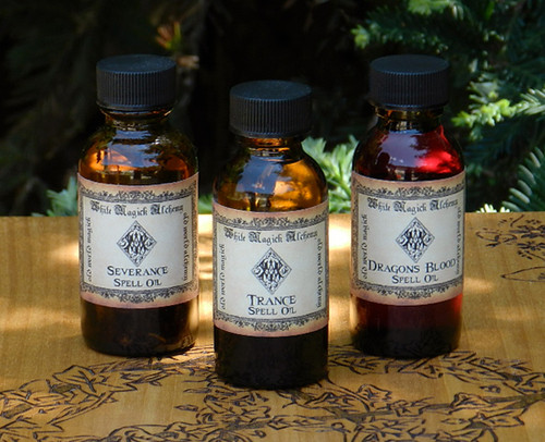 Alchemy Spell Oils 1 Ounce . Choose your Intention