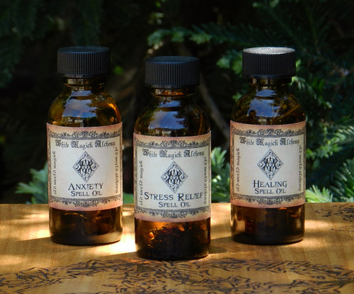 Anxiety Herbal Oils