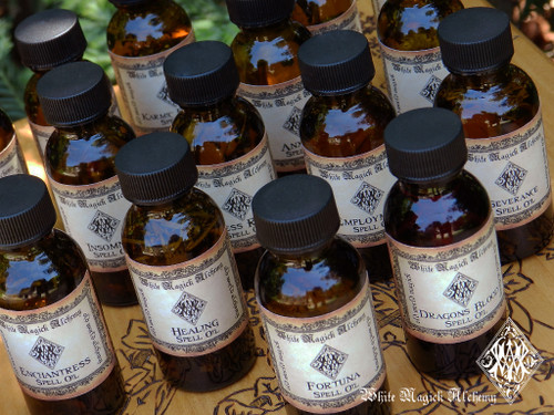 Alchemy Spell Oils .50 ounce . Choose your Intention