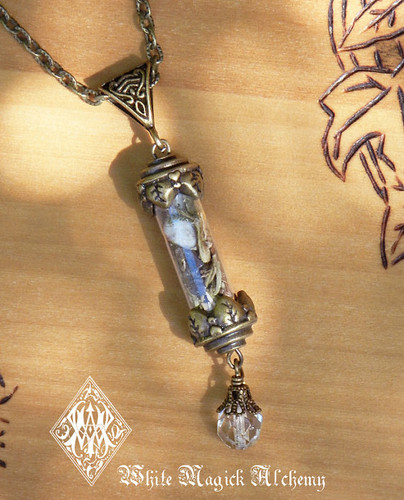 Healing Alchemy Pendant Charm Necklace