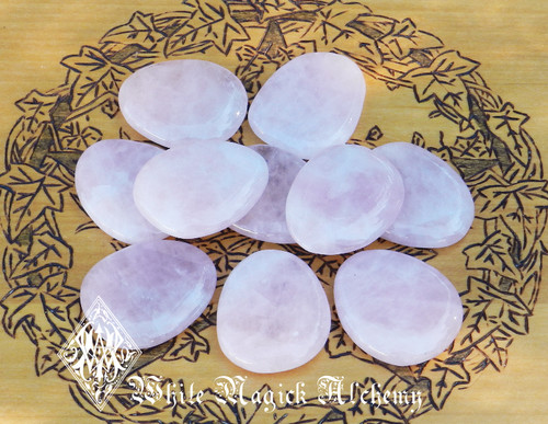Rose Quartz Polished Palm Stones