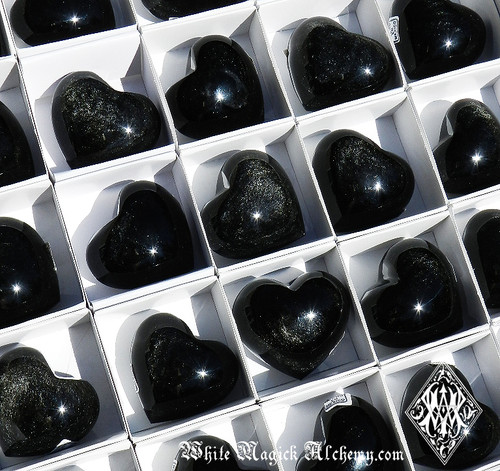 Black Obsidian SILVER SHEEN Gemstone