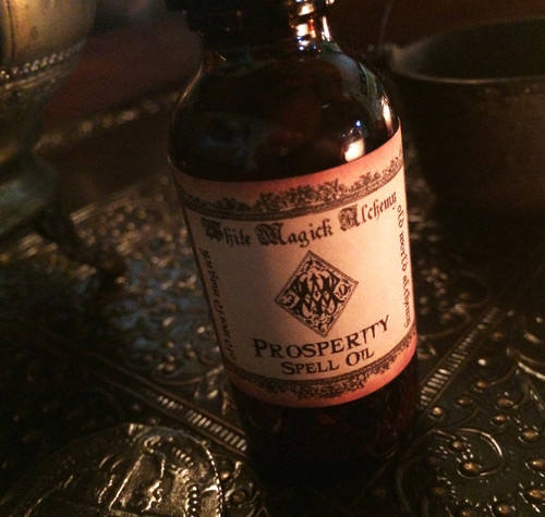 PROSPERITY Spell Oil . Old World Alchemy . Money, Abundance, Business, Success