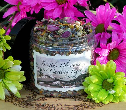*Brigids Blossoms Alchemy Casting Herbs for Imbolc & Festival of Lights