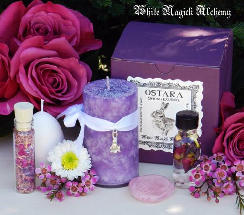 Ostara Ritual Set for New Beginnings, Fertility, Abundance, Spring Equinox