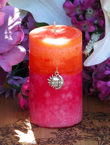 Summer Sunset Candles for Summer Solstice, Evening Illumination, Love . Grapefruit, Lemon Verbena, Lime, Lily, Creamy Vanilla Sugar