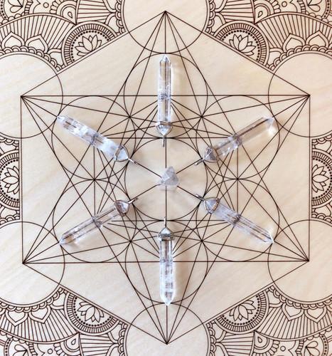 Quartz Slim Point Pendulum Necklaces
