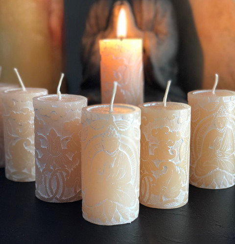 Antique Jasmine Meditation Candles
