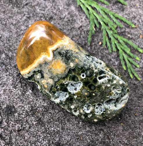 Gorgeous Deep Ocean Jasper Specimen