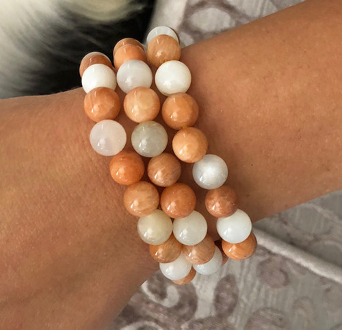 Moonstone Boho Gemstone Bracelets, Harness the Magical & Healing Energies of Stones