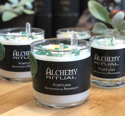 Fortuna - Alchemy Ritual Candles for Abundance & Prosperity