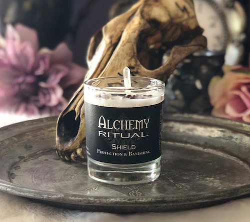 Shield Petite - Alchemy Ritual Candles for Shielding & Protection