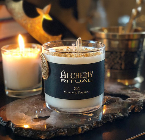 24 - Alchemy Ritual Candles for Money & Fortune