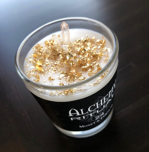 24 Petite - Alchemy Ritual Candles for Money & Fortune
