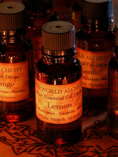 Lemon Essential Oil . White Magick Alchemy Pure Essential Dilute . Love, Purifictaion, Longevity, Friendship, Faerie Workings