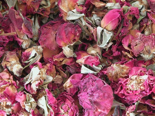 Red Rose Petals and Buds ~ Herbal Alchemy