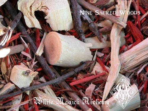 Nine Sacred Woods Ancient Cauldron Blend, Celtic and Druid Workings, Spiritual Enlightenment, Prophetic Dreams, Fertility, Abundance