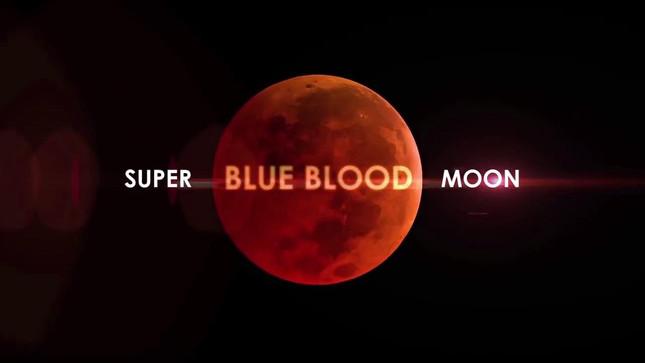Rare Blue Blood Supermoon January 31, 2018