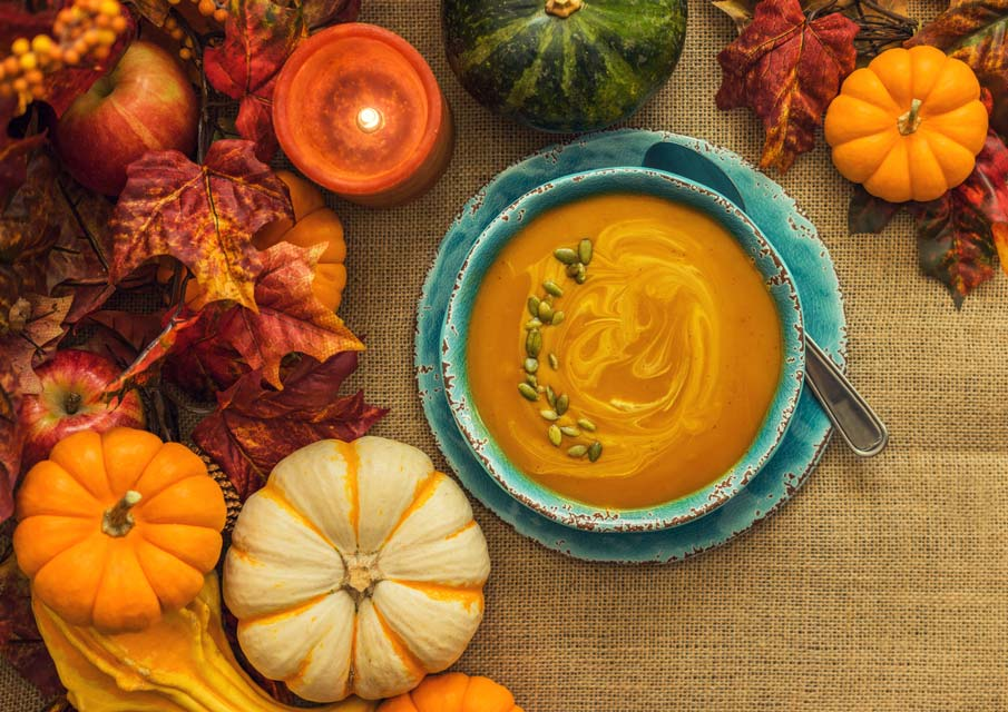 Learn how to make common autumn comfort foods healthier.