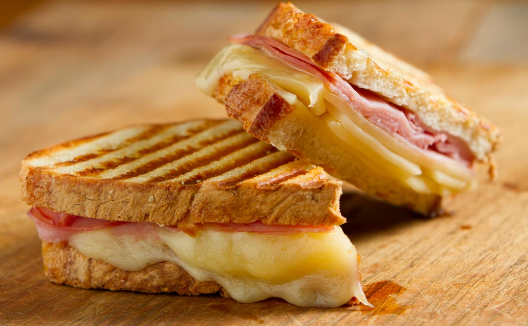 Learn how to make a healthier monte cristo sandwich.