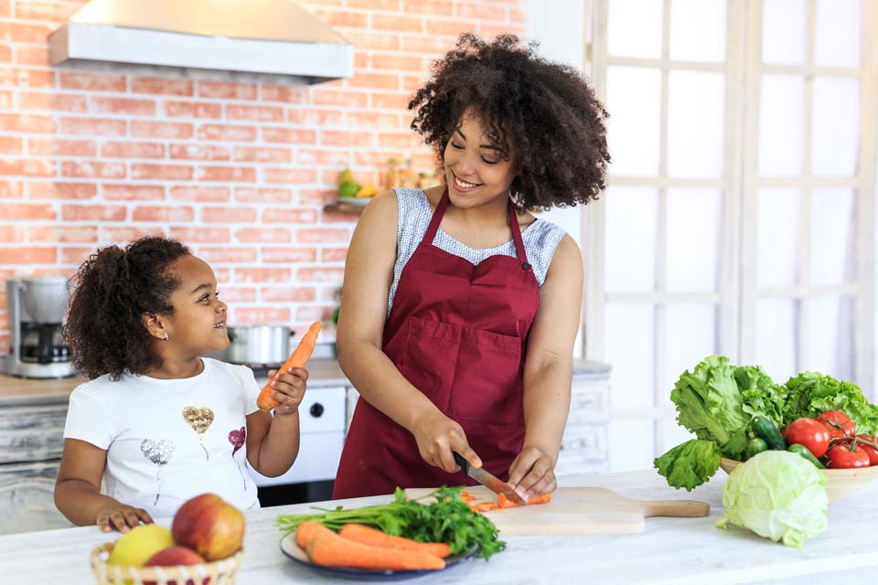Make healthy eating a habit for your family.