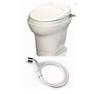 Thetford Aqua-Magic V, Hand-Flush/W Spray Water, High Profile/Parchment 31676