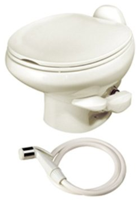 Thetford Aqua-Magic Style II, Low Profile/Bone W/ Water Sprayer 42065