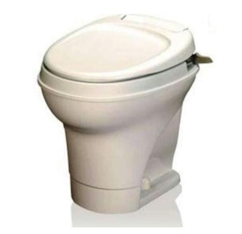 Thetford Aqua-Magic V, Hand-Flush, High Profile/Parchment 31668
