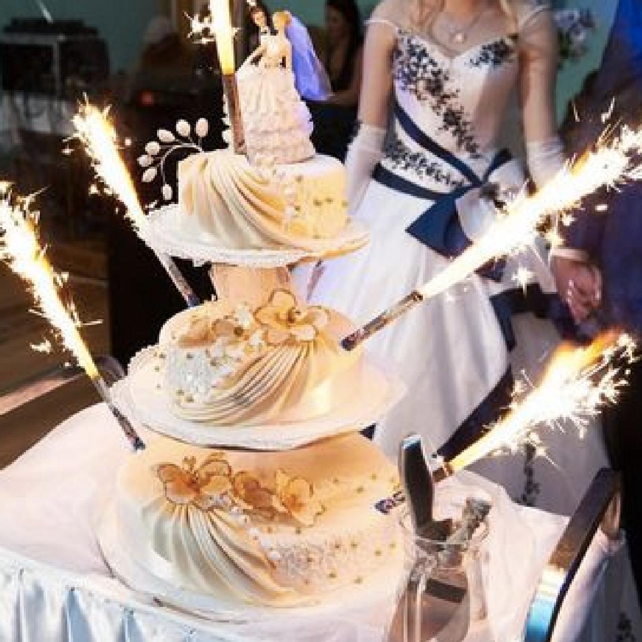 Premium Cake Sparklers 6 Inch